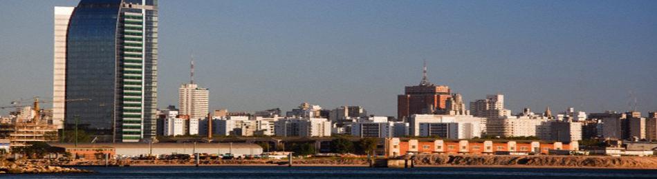 rambla portuaria de Montevideo